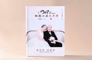 结婚六十周年纪念册定制,60周年结婚纪念相册制作