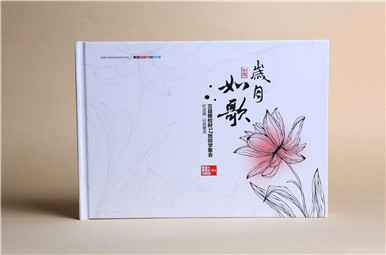万县粮校财12班同学聚会纪念册定制,重庆聚会同学录制作