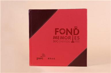 pwc中国普华永道领导退休纪念册制作,会计师事务所领导离任纪念相册设计图片
