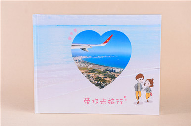 个人纪念册定制,情侣纪念册设计制作,恋人相册书制作