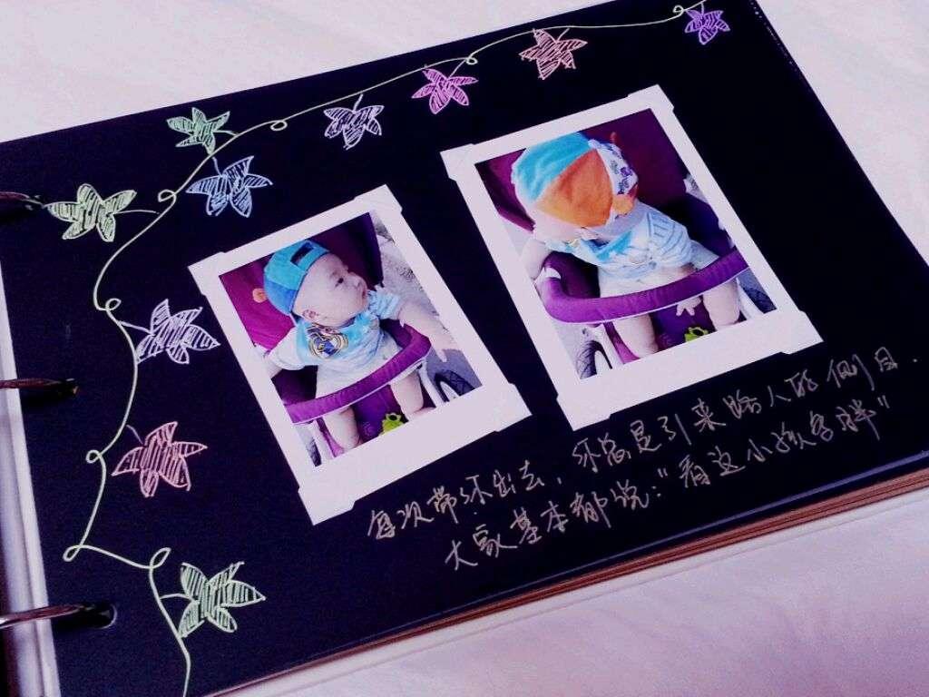 【相册设计图片手绘】精美手工制作相册花边设计手绘图片欣赏