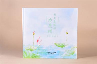 18岁生日送什么礼物?方旻婧18岁成人礼纪念册,18岁成长相册制作图片