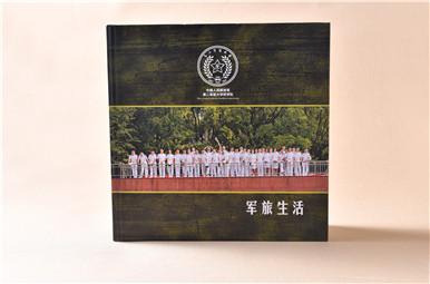 上海市中国人民解放军第二军医大学毕业纪念册设计,上海毕业相册制作